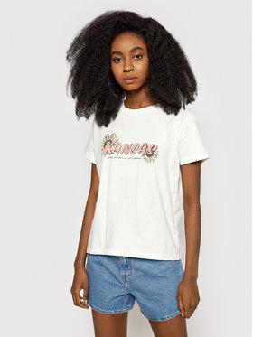 Lee Lee T-Shirt Kansas Graphic L44HEPQB Béžová Relaxed Fit