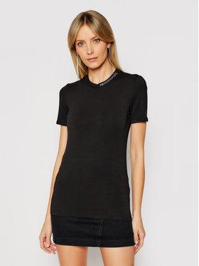 Patrizia Pepe Patrizia Pepe T-Shirt 8M1201/A13-K103 Černá Regular Fit