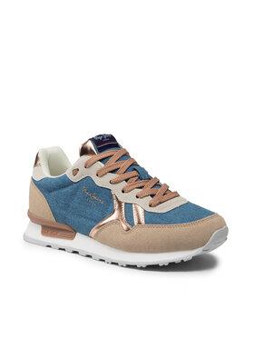 Pepe Jeans Pepe Jeans Laisvalaikio batai Britt Origin Women PLS31282 Tamsiai mėlyna