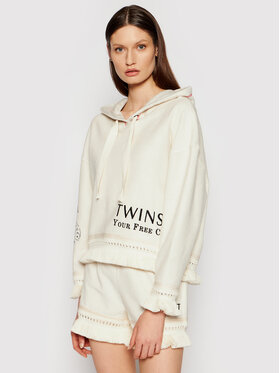 TwinSet TwinSet Sweatshirt 211LL2VGG Beige Regular Fit