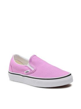 Vans Vans Πάνινα παπούτσια Classic Slip-On VN0A33TB3SQ1 Μωβ