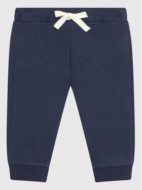 United Colors Of Benetton United Colors Of Benetton Spodnie dresowe 3EB5I0503 Granatowy Regular Fit