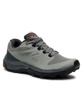 Salomon Salomon Chaussures de trekking Outline Gtx W GORE-TEX 407969 20 M0 Vert