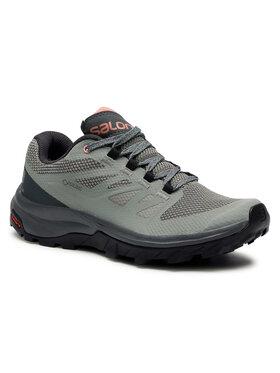 Salomon Salomon Turistiniai batai Outline Gtx W GORE-TEX 407969 20 M0 Žalia
