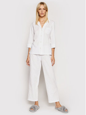 Lauren Ralph Lauren Lauren Ralph Lauren Pižama 2 Pc Garment ILN92080 Balta