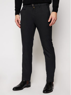 Pierre Cardin Pierre Cardin Spodnie materiałowe 33747/000/4792 Czarny Modern Fit