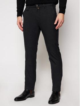 Pierre Cardin Pierre Cardin Текстилни панталони 33747/000/4792 Черен Modern Fit