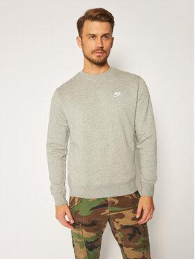 NIKE NIKE Sweatshirt Sportswear Club BV2662 Grau Standard Fit