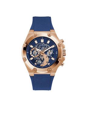 Guess Guess Laikrodis Third Gear GW0334G3 Tamsiai mėlyna