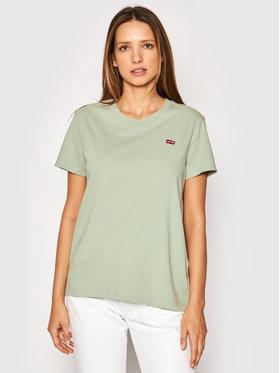 Levi's® Levi's® Тишърт The Perfect 39185-0145 Зелен Regular Fit