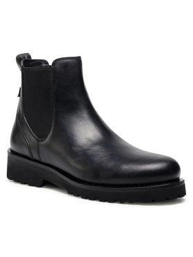 Woolrich Woolrich Kotníková obuv s elastickým prvkem WFM202.063.3300 Černá