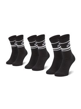 Nike Nike 3 pár/csomag unisex térdzokni CQ0301-110 Fekete