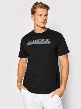 Guess Guess T-shirt MBBI40 KAVR0 Noir Regular Fit