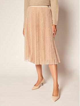 Marella Marella Plisovaná sukně Emanuel 37760106 Růžová Regular Fit