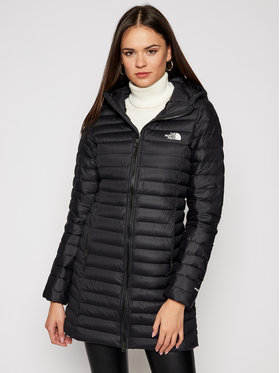 The North Face The North Face Pehelykabát Stretch Down NF0A4P6JJK31 Fekete Slim Fit