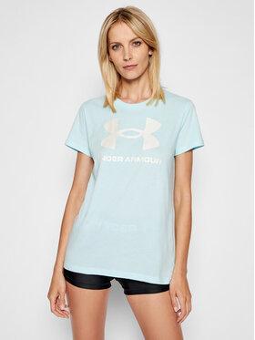 Under Armour Under Armour T-shirt UA Sportstyle Graphic 1356305 Bleu Regular Fit