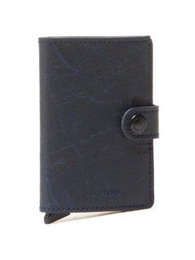 Secrid Secrid Malá pánska peňaženka Miniwallet MCr Tmavomodrá