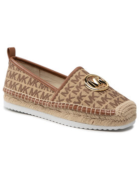 MICHAEL Michael Kors MICHAEL Michael Kors Espadrilky Lenny Espadrille 40S1LNFP2Y Hnedá
