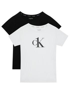 Calvin Klein Underwear Calvin Klein Underwear Komplet 2 t-shirtów 2Pk G80G800451 Biały Regular Fit