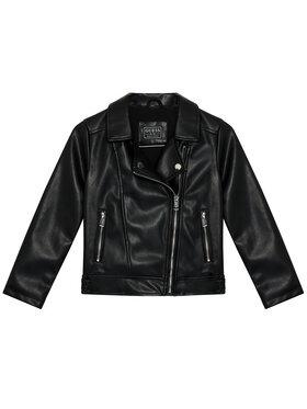 Guess Guess Veste en simili cuir K1YL00 WAEI0 Noir Regular Fit