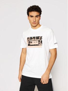 adidas adidas T-shirt Photo HB1820 Bijela Regular Fit