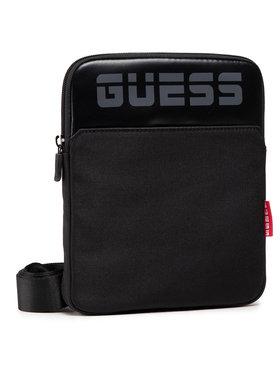 Guess Guess Válltáska Alvis Smart (LOGO) HMEELL P1223 Fekete