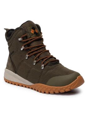 Columbia Columbia Trekingová obuv Fairbanks Omni-Heat BM2806 Zelená