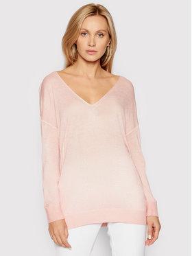 Guess Guess Пуловер W1GR14 Z2UA0 Розов Regular Fit