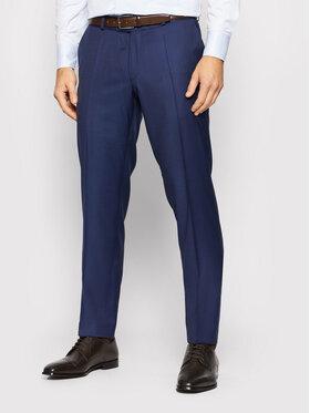 Carl Gross Carl Gross Kostiuminės kelnės Cg Flann 061S0-70 Tamsiai mėlyna Regular Fit