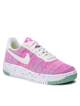 Nike Nike Обувки Af1 Crater Flyyknit DC7273 500 Розов