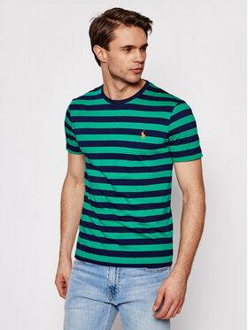 Polo Ralph Lauren Polo Ralph Lauren T-Shirt Ssl 710823560003 Tmavomodrá Slim Fit