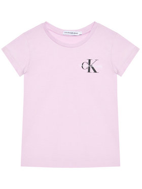 Calvin Klein Jeans Calvin Klein Jeans Tricou Chest Monogram IG0IG00573 Violet Regular Fit