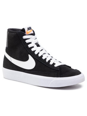 NIKE NIKE Обувки Blazer Mid '77 Suede (Gs) DD3237 002 Черен