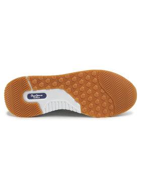 Pepe Jeans Sneakersy Koko Ive PLS30998 Biela