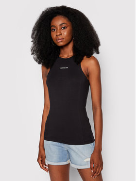 Calvin Klein Jeans Calvin Klein Jeans Блуза J20J216276 Черен Slim Fit