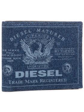 Diesel Diesel Portafoglio grande da uomo Hiresh S X07728 P1730 Blu scuro