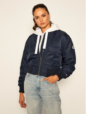 Tommy Jeans Tommy Jeans Geacă bomber Gathering DW0DW08575 Bleumarin Regular Fit