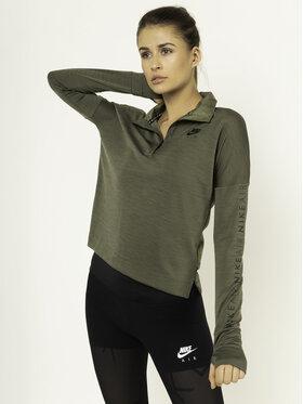 Nike Nike Суитшърт от техническо трико Running BV4362 Зелен Standard Fit