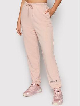 NA-KD NA-KD Spodnie dresowe Good Will Printed 1100-004454-0115-003 Różowy Relaxed Fit
