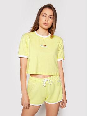 Ellesse Ellesse T-shirt Derla SGJ11884 Žuta Regular Fit