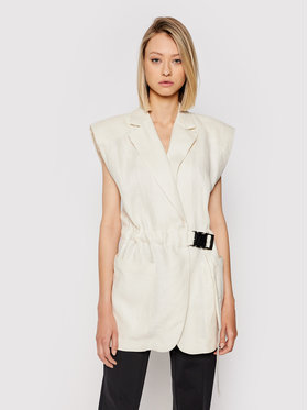 Remain Remain Gilet Helena RM419 Beige Loose Fit