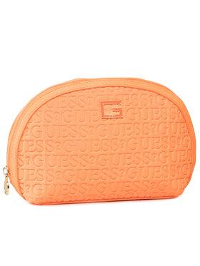 Guess Guess Kosmetyczka Caris Accessories PWCARI P0270 Pomarańczowy