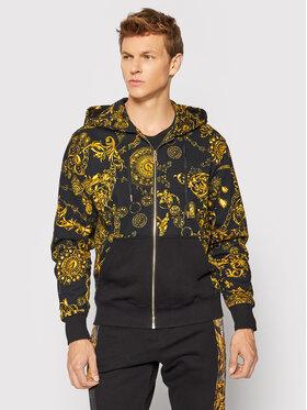 Versace Jeans Couture Versace Jeans Couture Mikina Contrast 71GAI3Z1 Černá Regular Fit