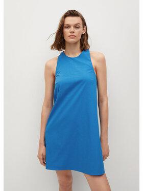 Mango Mango Nyári ruha Vita 87029404 Kék Regular Fit