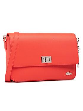 Lacoste Lacoste Kabelka Flap Crossover Bag NF2770DC Červená