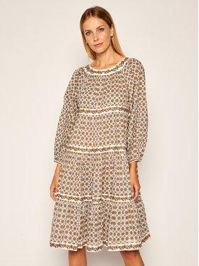 Tory Burch Tory Burch Každodenní šaty Puffed-Sleeve 71717 Barevná Regular Fit