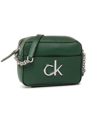 Calvin Klein Calvin Klein Kabelka Re-Lock Camera Bag K60K606677 Zelená