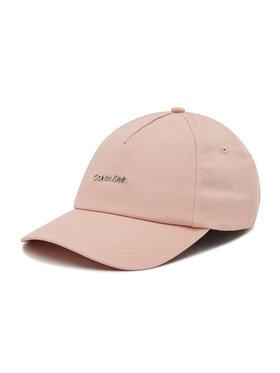 Calvin Klein Calvin Klein Czapka z daszkiem Bb Cap K60K608207 Różowy