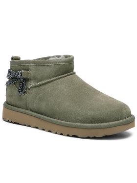 Ugg Ugg Chaussures W Classic Ultra Miini Chans 1117933 Vert
