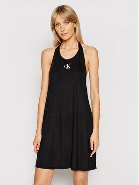 Calvin Klein Swimwear Calvin Klein Swimwear Strandkleid KW0KW01408 Schwarz Regular Fit